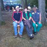 Karl-Heinz, Andrea und Günter. Es hat und sehr viel Spaß gemacht.