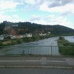 Auf der Mosel in Trier