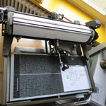 Chnesische Schreibmaschine mit um die 4000 Zeichen