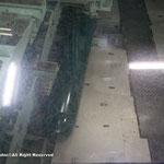 魚雷室は上から眺めるだけ。