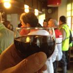朝食からワイン