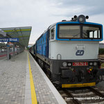 チェコ鉄道 754型DL