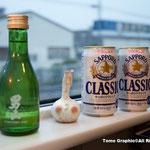 北海道限定が飲める!日本酒は男山だ!