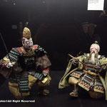 サムライ展の中の人形
