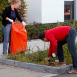 … um unser Veedel vom Müll zu befreien