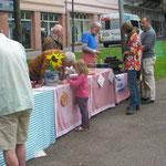 Weltkindertag beim Lutherdenkmal - NABU Waffel- und Infostand