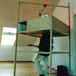 Mindbox, 1999, with performer