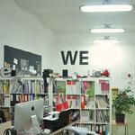 WE, 2014, banner, studio view