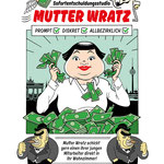 """Leinwanddruck """"Mutter Wratz"""""""