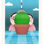 "Risographie ""Kaktus"""