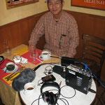 Friend & collaborator Masa, cameraman