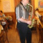 Randall at Sax