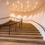 Elbphilharmonie, Aufgang