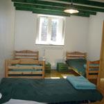 chambre verte 3 places