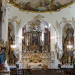 Kosterkirche St. Alto und St. Birgitta - Altarraum