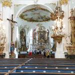 Klosterkirche St. Alto und St. Brigitta - Hauptraum