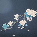 帯「夜桜」