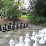 Schachspiel im Park