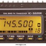 ICOM 3220E BIBANDA VHF-UHF FM