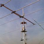 Dettaglio gabbia e antenna