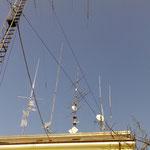 le antenne sul tetto modificate quelle della TV