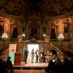 Bei der Mixed-Up-Preisverleihung 2016 im Staatstheater Wiesbaden (Foto: Katrin Schander)