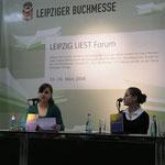 Mit Yulia Marfutova und Barbara T. Bohle (2008)
