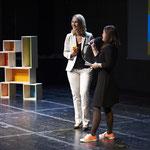 Mit Manuela Schwesig bei der Mixed Up-Preisverleihung 2014 (Foto: Matthias Steffen)
