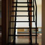 スケルトン階段:スチール階段:リノベ