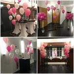 Auch für eure Hochzeitslocation sind Ballon die ideale Dekoration.