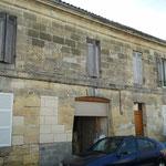 Ravalement de façade et rattrapage de plaquage et maçonnerie (avant mon intervention)
