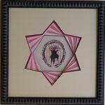 de l'hexagone à l'étoile (broderie :