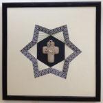 ouverture en étoile (Croix en céramique)