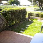 Le jardinet privé