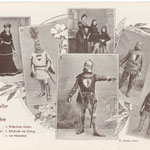 1 Th. Schmidlin, 2 Frau Wyss-Jenni, 4 Frau Schmidlin mit ihren Söhnen, 3 Huber, 5 Brauer Wyss-Jenni