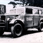 umgerüstetes Wehrmachtsfahrzeug 1954