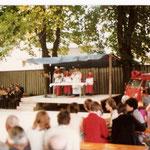 Feldmesse beim Kirtag 1976