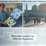 Artikel in de Texelse Courant