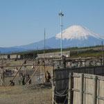 チサンマンション茅ヶ崎棟から見る富士山2