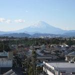 チサンマンション茅ヶ崎棟から見る富士山1