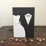 Hochzeitskarte A5, Fr. 10.-