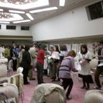 NPO大懇談会での名刺交換会