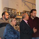 Con Héctor Palencia y Ruth Pindado