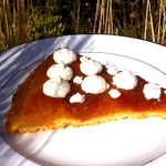 upside down apple tart