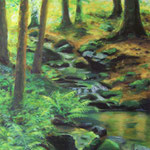 Wald mit Bach