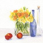 Stillleben mit Flaschen 2016