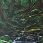 Die Ruhe des Waldes