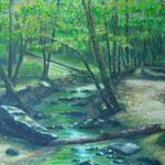 Wald in Grün