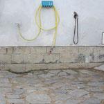 Waschplatz draußen
