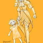 グロールフィンデルとエアレンディル